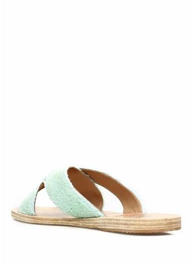 Ancient Greek Sandals Terlik Turkuaz